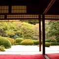 写真: 桜の頃の詩仙堂