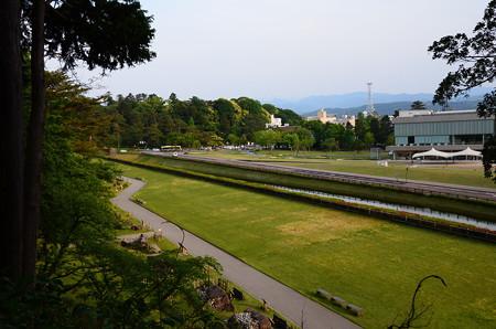 金沢城公園からの眺め