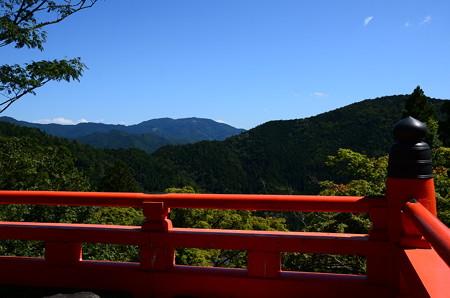 比叡山もクッキリ~
