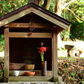 写真: 椿地蔵