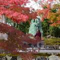 写真: 飛雲観音前の紅葉