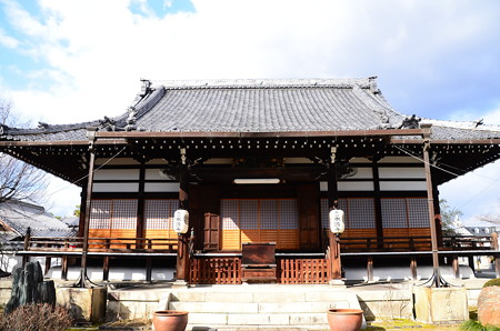 お正月の本満寺