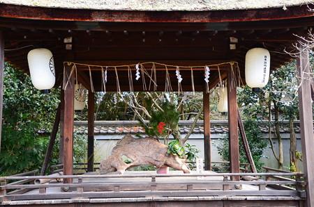 宗像神社の正月飾り