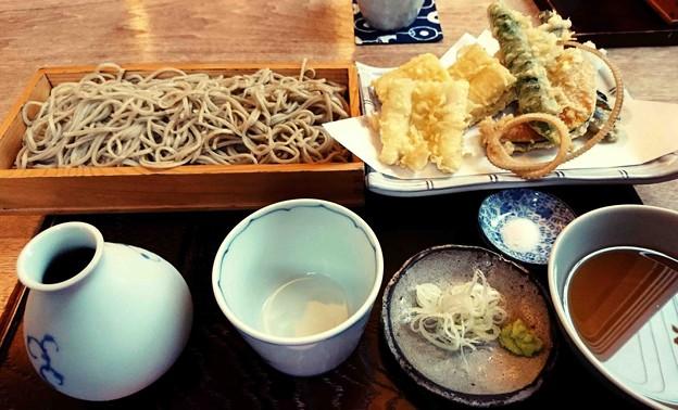 Photos: 蕎麦きり さいとう 穴子天せいろ