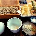 写真: 蕎麦きり さいとう 穴子天せいろ