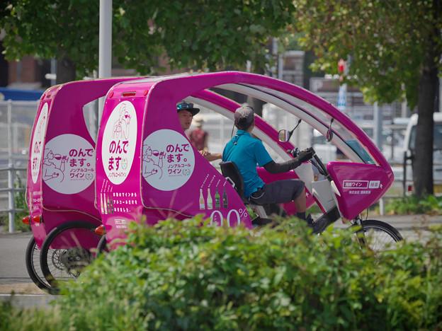 170914_横浜市中区・赤レンガパーク_自転車タクシー「シクロポリタン」_G170914J7843_MZD300P_X8Ss
