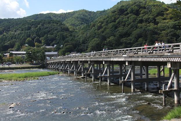 写真: 渡月橋