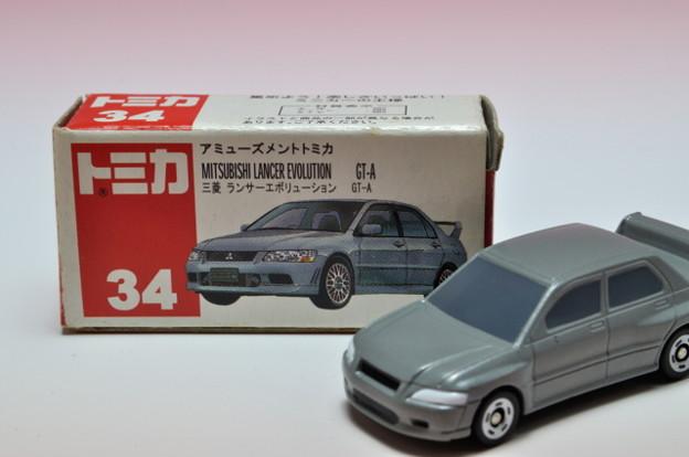 タイトー_アミューズメントトミカ 三菱 ランサー エボリューション GT-A MITSUBISHI LANCER EVOLUTION GT-A_006