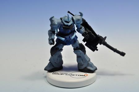 バンダイ_ガンダムミニフィギュアセレクションプラス 機動戦士ガンダム第08MS小隊 MS-07B-3 グフカスタム_001