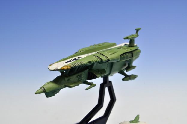 メガハウス_コスモフリートコレクション 宇宙戦艦ヤマト さらば友よ編 高速中型空母ナスカ_006
