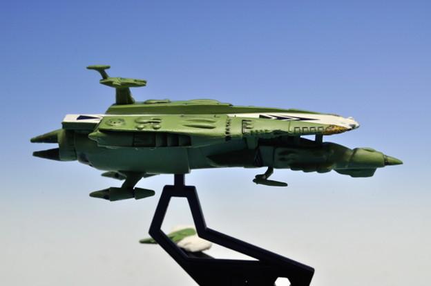 メガハウス_コスモフリートコレクション 宇宙戦艦ヤマト さらば友よ編 高速中型空母ナスカ_003