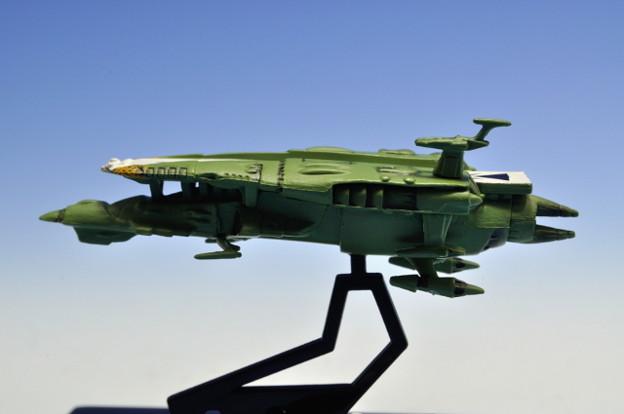 メガハウス_コスモフリートコレクション 宇宙戦艦ヤマト さらば友よ編 高速中型空母ナスカ_002