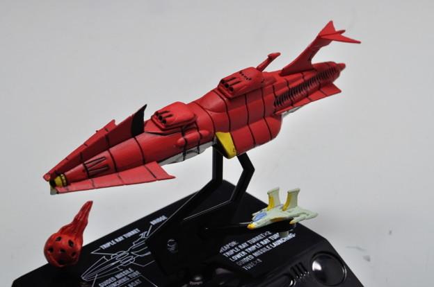 メガハウス_COSMO FLEET COLLECTION 宇宙戦艦ヤマト さらば友よ編 沖田艦_007