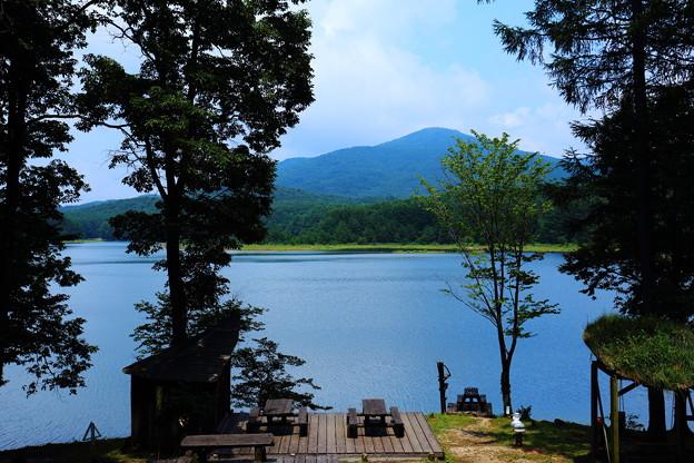 聖湖の景色
