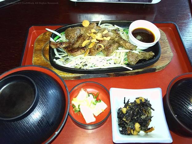 牛肉焼き定食