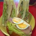 Photos: 野菜サンドイッチ