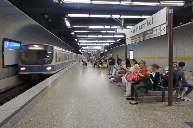 中央駅 Uバーン