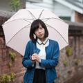 Photos: 出会いは、雨の日だった。