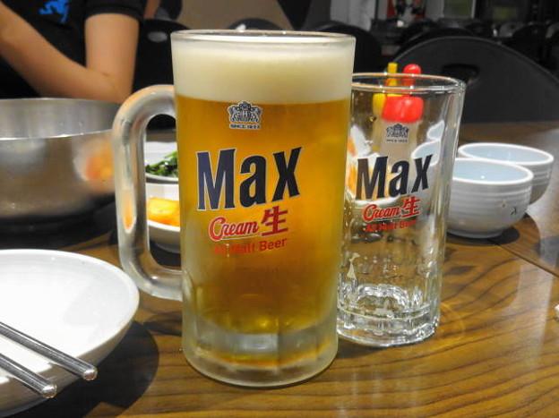 Photos: 韓国ビール