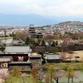 松本城公園を見下ろす大展望