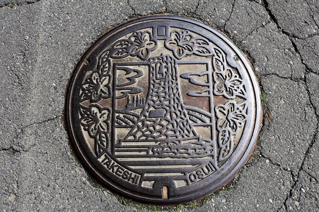 長野県旧武石村(現・上田市)マンホール