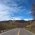 県道乗鞍線よりの乗鞍岳
