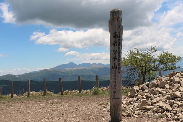 八ヶ岳中信高原国定公園「高ボッチ山」(標高・1664.9m)