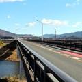 愛知県道499号線の豊川に架かる「加茂橋」