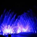 写真: 噴水ショーフィナーレ