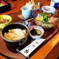 Photos: 天ぷらつきサラダうどんセット