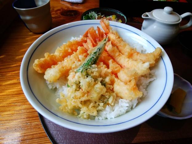 和処五木 海老天丼セット