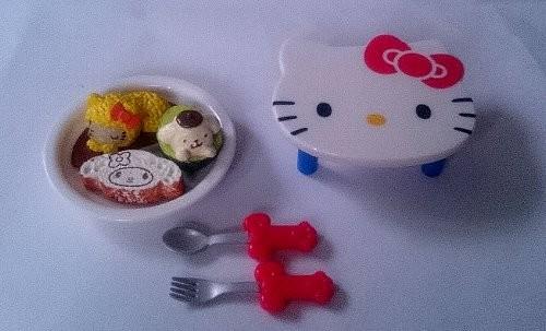 ぷちサンプル HELLO KITTY 猫カフェ