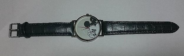SPRiNG ミッキーマウス 大人の腕時計