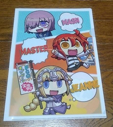 Photos: ローソン限定 Fate/Grand Order オリジナルクリアファイル