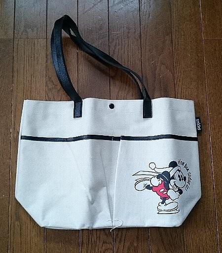 Photos: Sweet snidel特製 ミッキーマウス 2ポケットつき 冬の進化形デカトート!