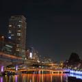 写真: 中之島夜景1
