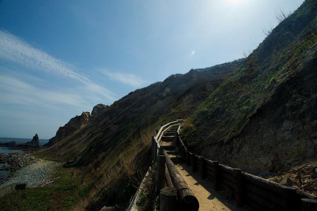 写真: 島武意階段