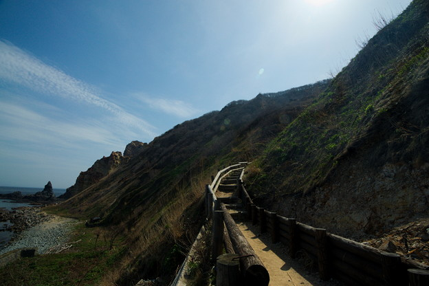 島武意階段