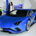 写真: Lamborghiniとお姉さん