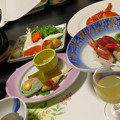 Photos: 温泉宿の夕げ。