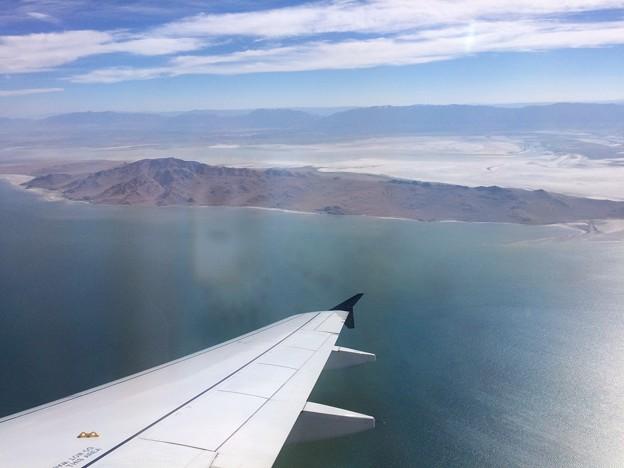 Antelope Island と裏山
