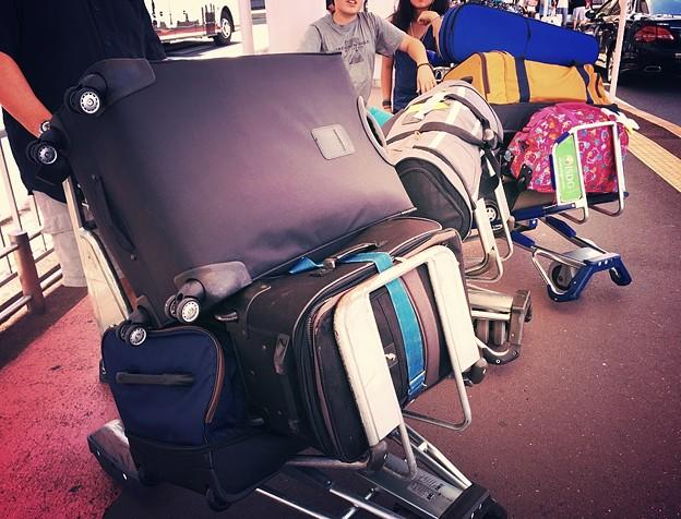 Suitcases...