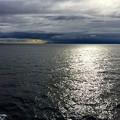 写真: 雲の切れ間から