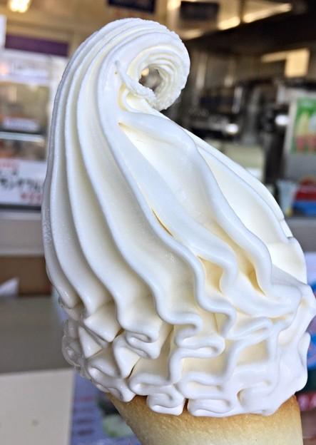 プレミアムソフトクリーム♪