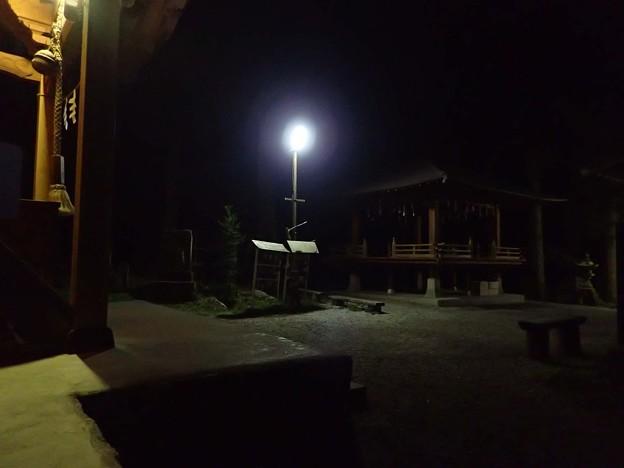 写真: 竹宇駒ケ岳神社に到着