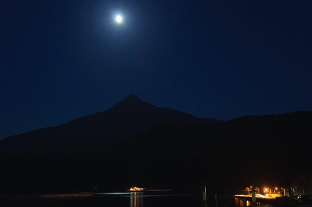 利尻の夜景@2012北海道旅行2日目