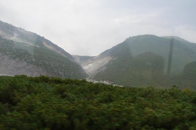 硫黄山@2013北海道旅行初日