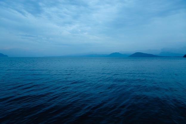 屈斜路湖畔@2013北海道旅行初日