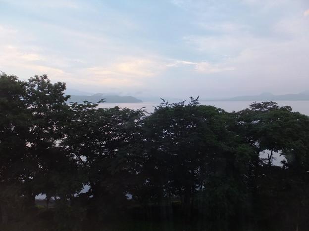 起床@2013北海道旅行2日目