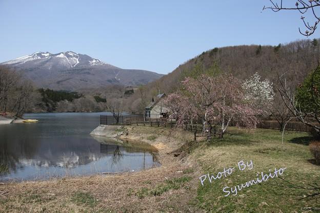 七ヶ宿町 長老湖
